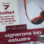 Salon du vin bio de l'Estuaire